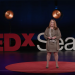 Jane Roskams on TEDX stage